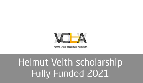 Helmut Veith scholarship - Fully Funded 2021 - Scholarships